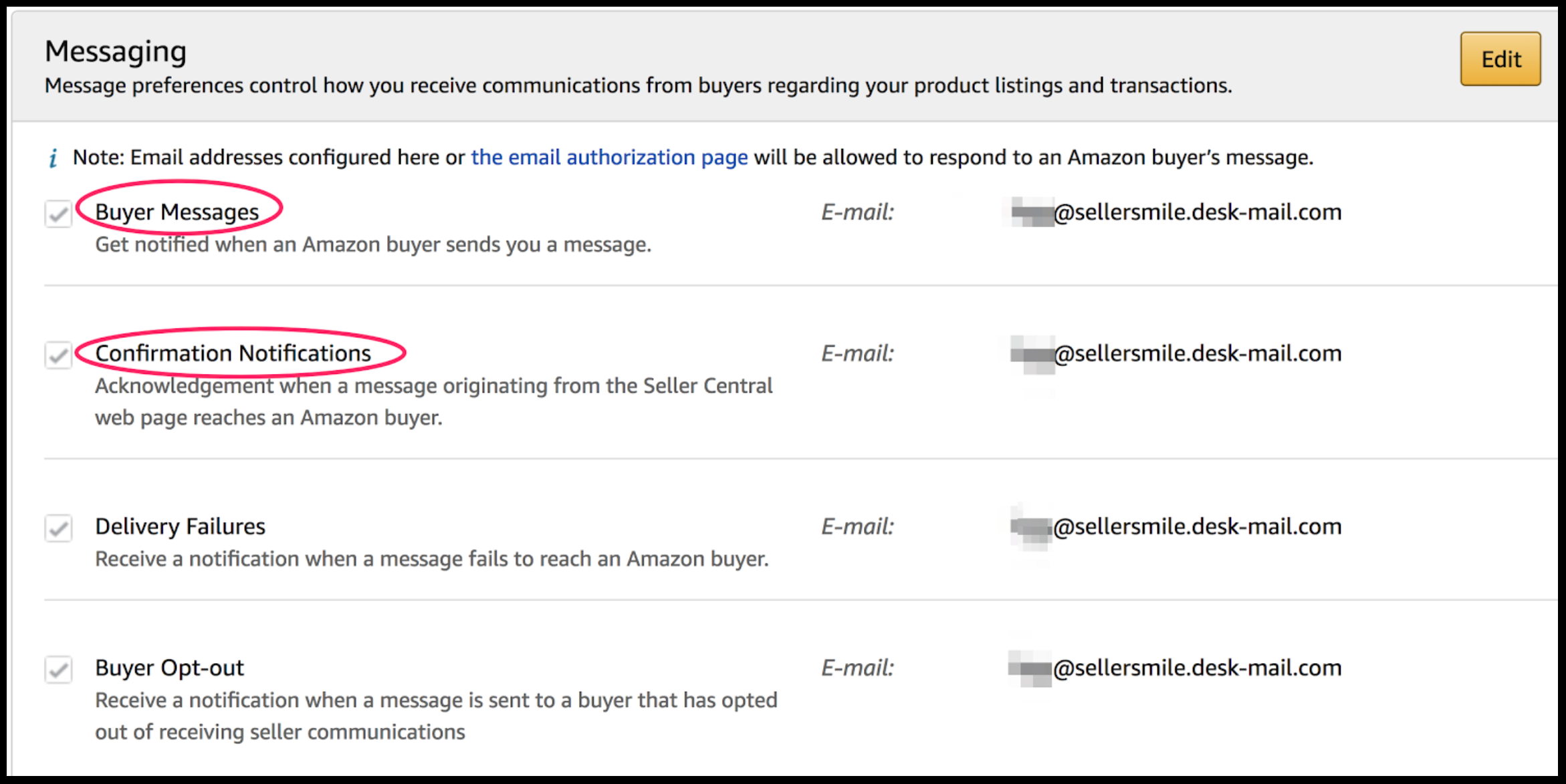 Amazon's Classic Seller Central Buyer-Seller Messaging is